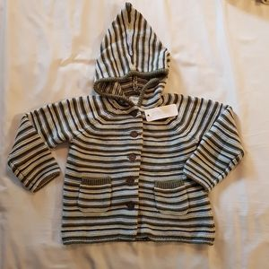 Knit hooded sweater, super soft